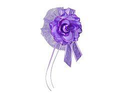 PartyDeco Rózsa dekorációs virág - lila