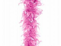 PartyDeco Világos rózsaszín boa