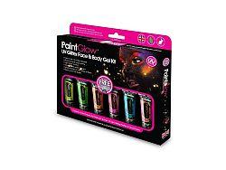 PGW Glitter gél szett - UV reaktív