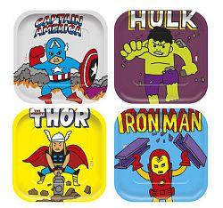 Procos Avengers négyzetes tányérok