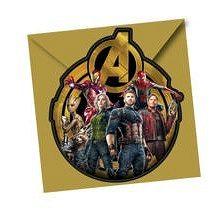 Procos Meghívók Avengers - Infinity War 6 db