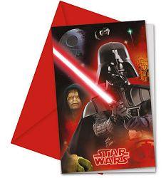 Procos Meghívók - Star Wars 6 db
