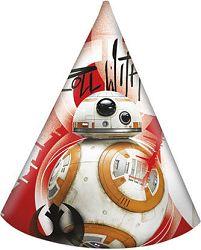 Procos Party csákók - BB8 (Star Wars) 6 db