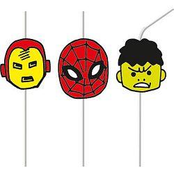 Procos Szívószálak - Avengers