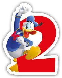 Procos Születésnapi gyertya - Mickey Mouse - 2-es szám