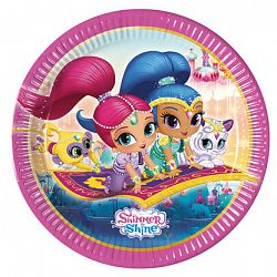 Procos Tányérok Shimmer and Shine 8 db