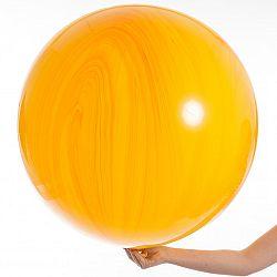 Qualatex Lufi - Narancssárga achát 75 cm