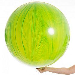 Qualatex Lufi - Zöld achát 75 cm