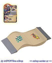 Skatepark X-Treme WORKER mini rámpa (6810)