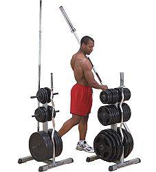 Súlyzó és rúd állvány Olympic 2 az 1-ben Body-Solid GOWT