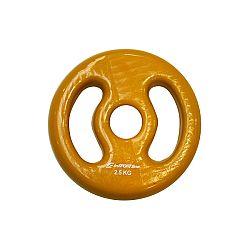 Súlyzótárcsa inSPORTline Ergo vinyl 2,5 kg-II.osztály