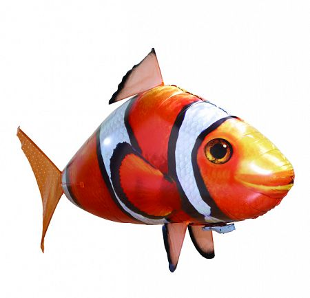 Air Swimmers Clownfish - Lietajúca ryba Nemo Airswimmers: Nemo + Hélium 50 Balloon Time lufi