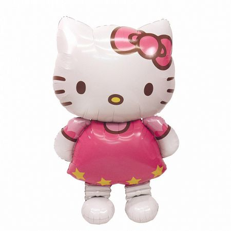 Amscan AirWalker Hello Kitty 76 x 127 cm léggömb