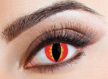 Eyecasions Kontaktlencse - Red Lizard