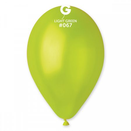 Gemar Zöld metál lufi