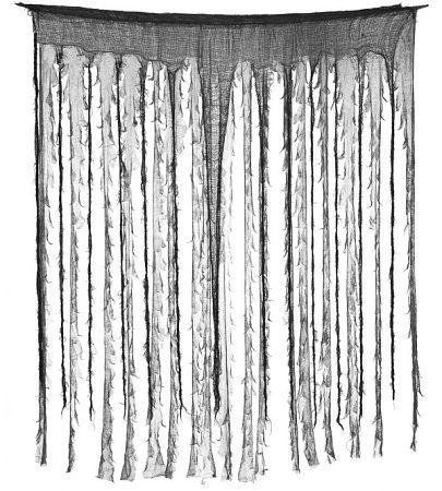 Guirca Fekete - szürke függöny 150 x 190 cm
