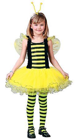 Guirca Gyermek jelmez - méhecske lány Méret - gyermek: L