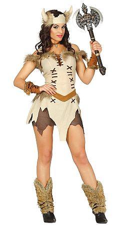 Guirca Jelmez - viking nő Méret - felnőtt: S