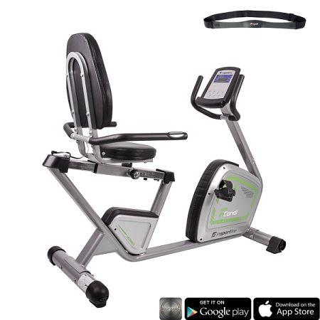 Háttámlás szobakerékpár inSPORTline inCondi R60i