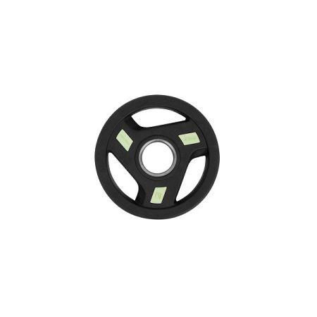 Olimpiai gumis súlyzótárcsa inSPORTline Herk 2,5 kg