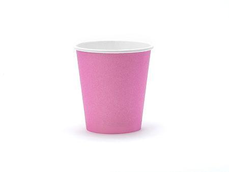 PartyDeco Poharak - rózsaszín 200 ml