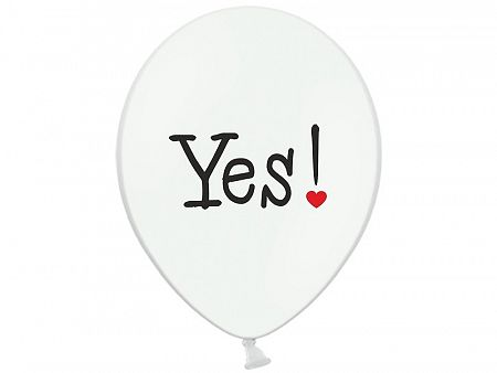 PartyDeco Will you marry me? latex lufi