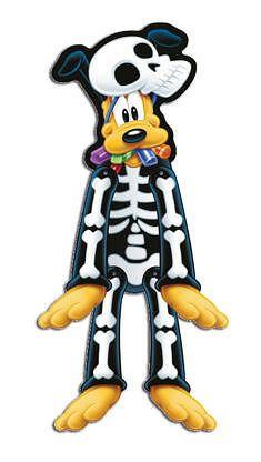 Procos Függő dekoráció Pluto - Mickey Halloween