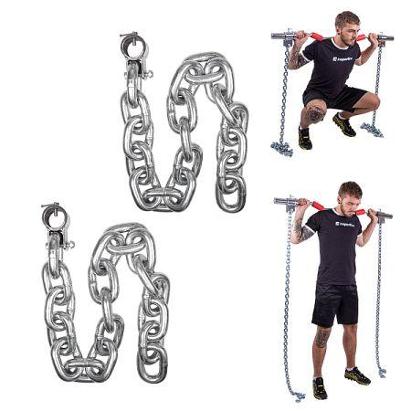 Súlyemelő lánc inSPORTline Chainbos 2x25 kg